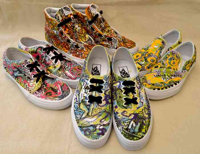f99f314693 Art Students Nationwide Create Custom Shoe Designs to Raise Awareness for  Arts Education and Compete to Win  50