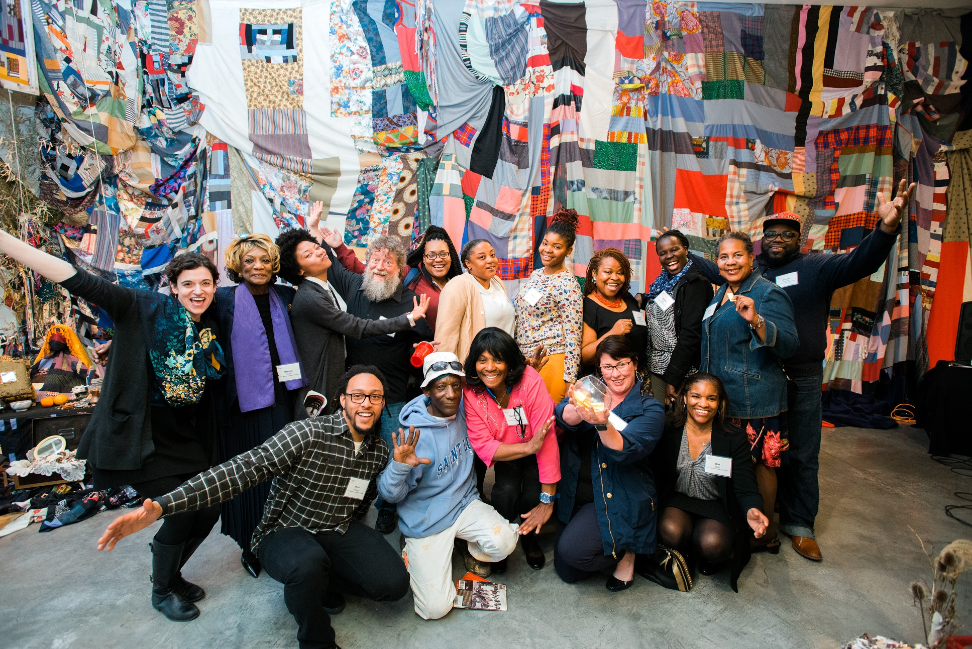 Americans for the arts presents award to community arts training