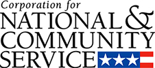 Corporation for National and Community Service logo