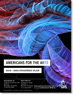 The 2018-2020 Americans for the Arts Strategic Plan