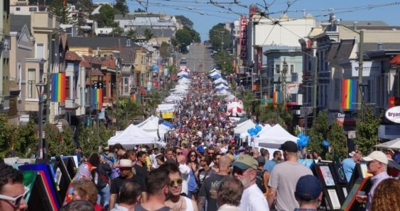 Castro Street Fair. Photo by Leah Perloff Events.