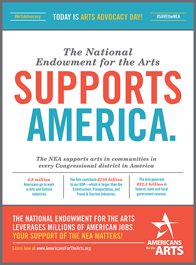 SAVE the NEA ad