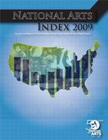 National Arts Index cover