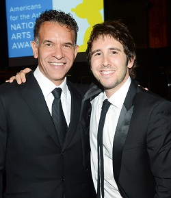Brian Stokes Mitchell and Josh Groban