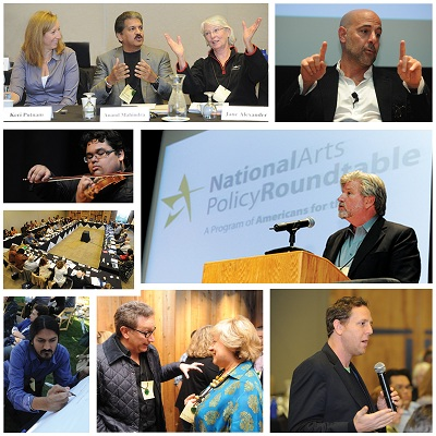 National Arts Policy Roundtable collage