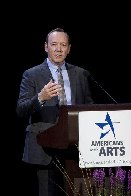 Kevin Spacey delivers the 2011 Nancy Hanks Lecture