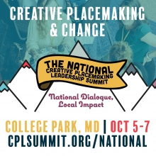 Americans for the Arts Partners with the National Consortium for Creative Placemaking to Develop the 2018 National Creative Placemaking Leadership Summit