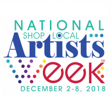 Celebrate National Shop Local Artists Week 2018