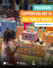 New National Field Scan Explores Programs Supporting Art in the Public Realm