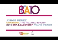 Embedded thumbnail for 2015 BCA 10: Jorge Pérez Accepts the 2015 BCA Leadership Award