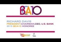 Embedded thumbnail for 2015 BCA 10: Richard Davis Accepts BCA 10 Honoree Award for U.S. Bank