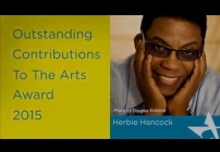 Embedded thumbnail for National Arts Awards 2015: Herbie Hancock