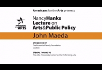 Embedded thumbnail for Nancy Hanks Lecture 2016: John Maeda