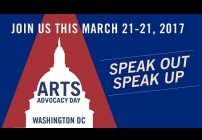 Embedded thumbnail for Arts Advocacy Day 2017: Speak Up, Speak Out! Register Today!