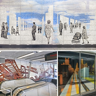 Second avenue subway blueprint for a landscape subway portraits title second avenue subway blueprint for a landscape subway portraits perfect strangers and elevated malvernweather Gallery